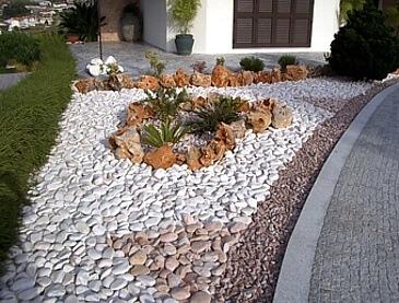 brispedra exemplos decorativos para jardim exterior