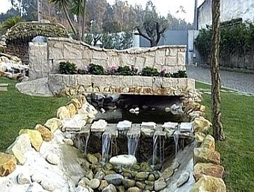 brispedra exemplos decorativos para jardim ponte cascata