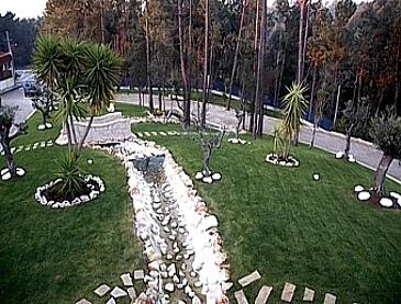 brispedra exemplos decorativos para jardim ponte